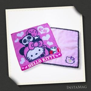 SANRIO Hello Kitty Mini Face Towels (Set of 2)